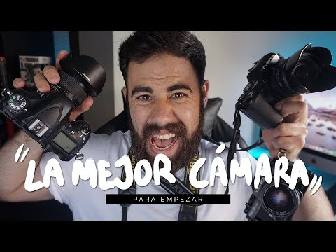 LA MEJOR CÁMARA PARA EMPEZAR EN LA FOTOGRAFÍA