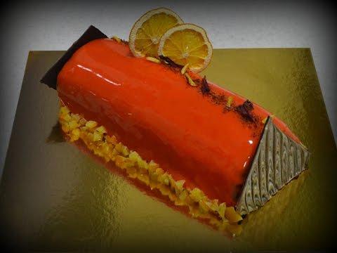 Торт с вишнями поленце фото рецепр