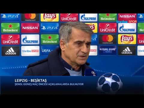 Şenol Güneş Röportaj | Leipzig - Beşiktaş