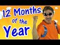 12 Months Of The Year Exercise Song For Kids Learn The Months Jack Hartmann mp3