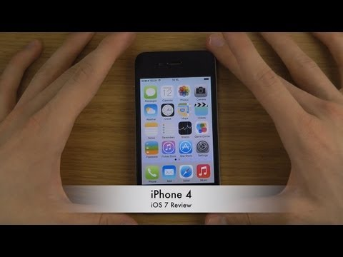 iPhone 4 - iOS 7 Review