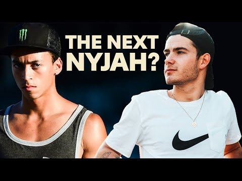 This Rookie Skater is GUNNING for Nyjah's Throne!