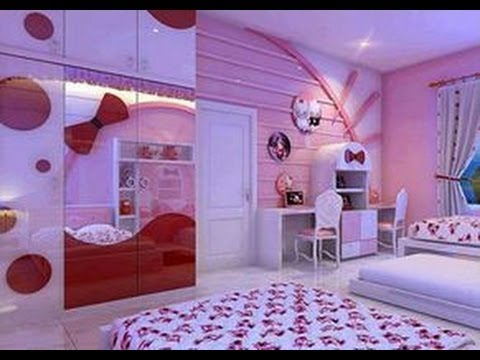 Kids room designs for girls and boys interior for Cheap bedroom designs for teenage girls