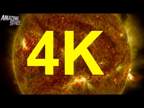 Play NASA | 4K Video:  Thermonuclear Art – The Sun In Ultra HD 4K in Mp3, Mp4 and 3GP
