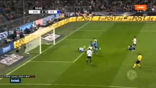 Jonas Hector Goal For Germany ! Germany vs Italy 29.03.2016 ( 3-0 )