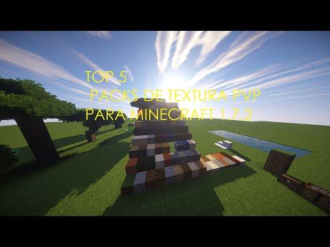 Top 5 Mejores Packs de Textura PvP para Minecraft 1.7.2 +MAPA