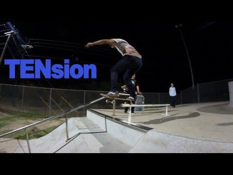 Tension Keen Ramps Rail  Brownsville Skatepark