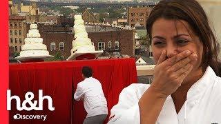 Ops, os bolos caíram do prédio! | Batalha dos Confeiteiros | Discovery H&H Brasil
