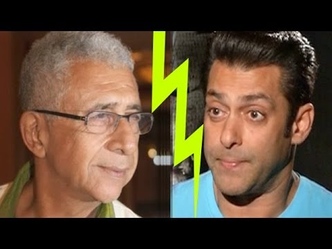 Naseeruddin Shah Criticizes Salman Khan video