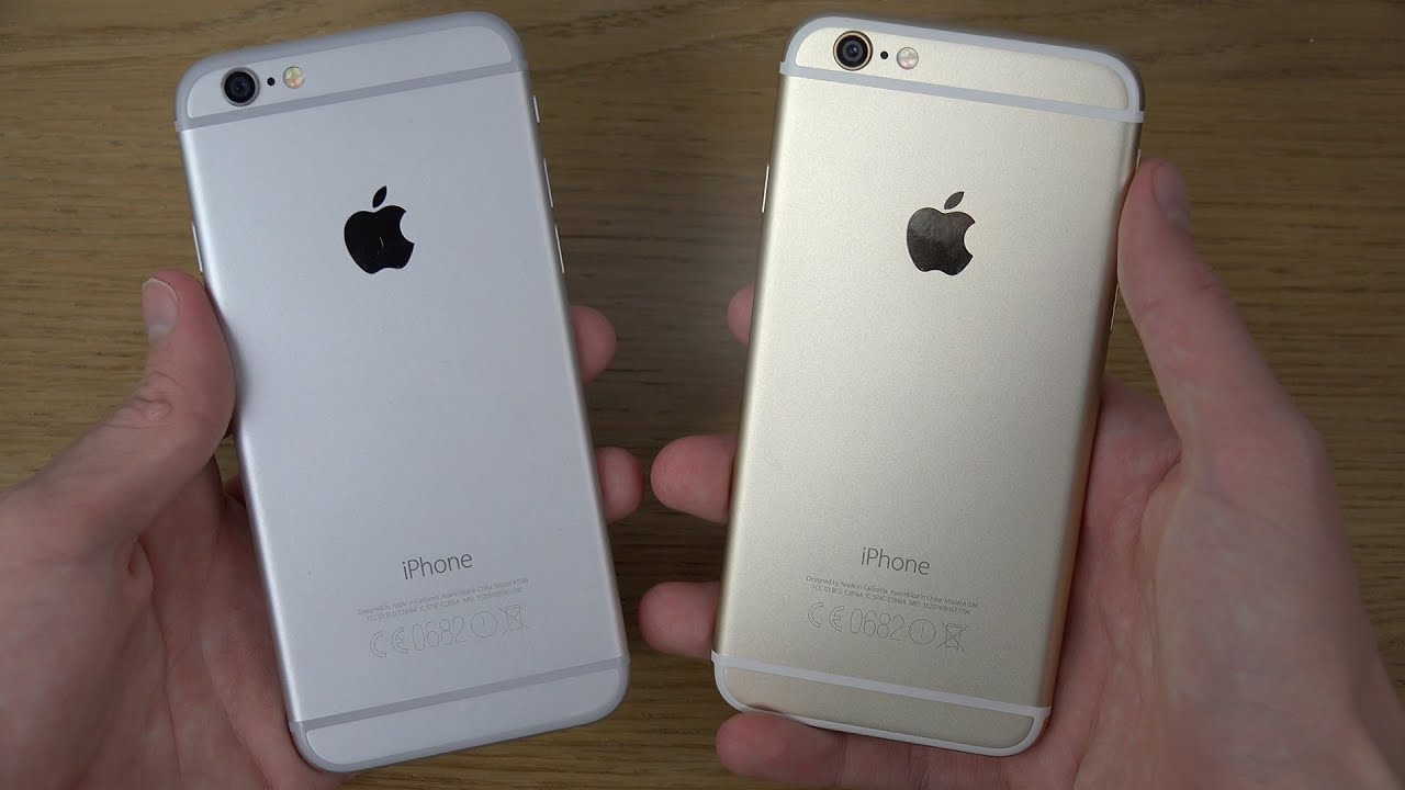 iphone 6 gold or silver youtube. Black Bedroom Furniture Sets. Home Design Ideas