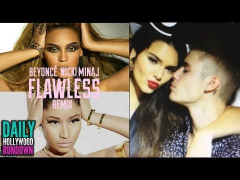 "Beyonce Talks Elevator Fight in ""Flawless"" Remix & Justin Bieber Cuddles with Kendall Jenner! (DHR)"