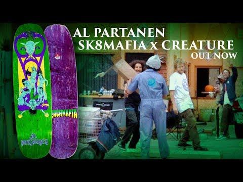 CREATURE X SK8MAFIA: Al Partanen Deck