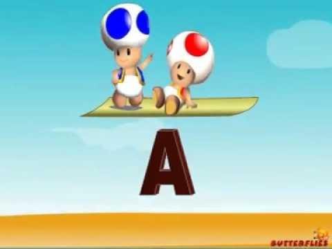 Canción del abecedario en inglés   Videos Educativos