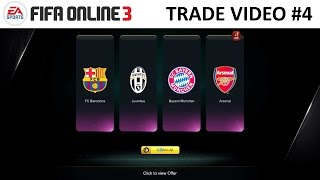 I got a +8 from trade! Ultimate trade compilation | FIFA Online 3