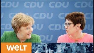 Neuaufstellung zur GroKo Angela Merkel prГsentiert kГnftige CDU-GeneralsekretГrin