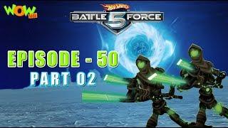 Motu Patlu presents Hot Wheels Battle Force 5 - Get Zemerik - S2 E50.P2 - in Hindi