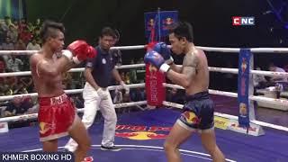 មឿន សុខហ៊ុច vs ម៉ាណាវថង, meun sokhuch vs manavthong (thai), CNC boxing Redbull marathon 24 03 2018