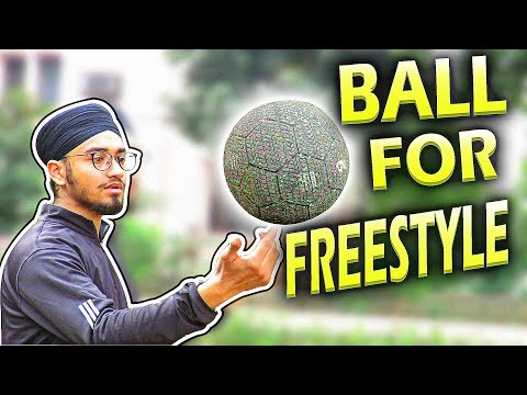 Football/Soccer ball Review For Freestyle Football  Kipsta Football Grip ball Decathlon