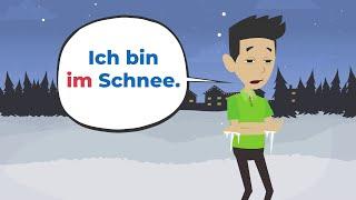 Deutsch lernen   Wichtige Präpositionen