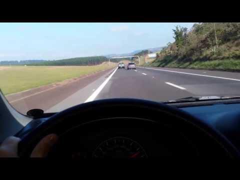 Nissan March 1.6 e Mercedes C180  Top Speed Bcanhadas