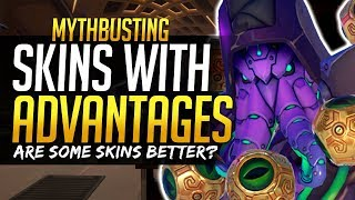 Overwatch Mythbusters - Skins that give you Advantages / Disadvantages