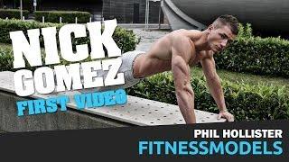FITNESSMODEL NICK GOMEZ in Berlin. First Video!
