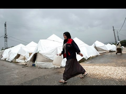 Life in Syrian refugee camps