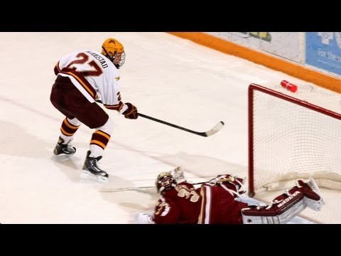 The Goals: Gopher Hockey Crushes Boston College 8-1