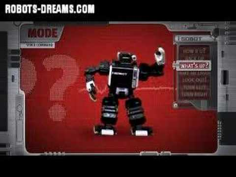 i-SOBOT Humanoid Robot Introductory Video
