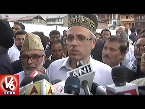 National Conference Leader Omar Abdullah Demands Dissolution Of J&K Assembly | V6 News