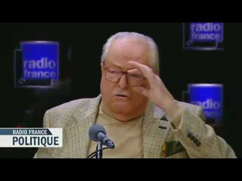 Jean-Marie Le Pen invité de Radio France Politique !