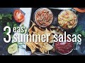 3 EASY SUMMER SALSAS | hot for food