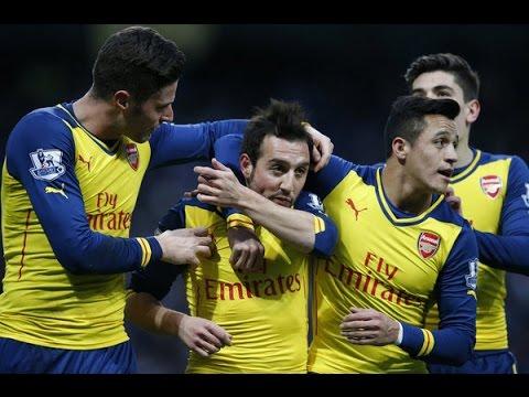 Man City Coq Blocked - Man City 0 Arsenal 2