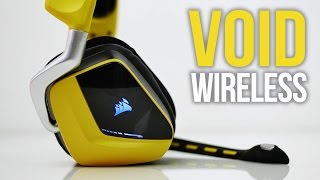 Corsair VOID RGB [Yellowjacket] Gaming Headset Review - Best Wireless Headset?