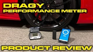 dragy GPS Performance Meter Review,  Giveaway and VBOX Comparison