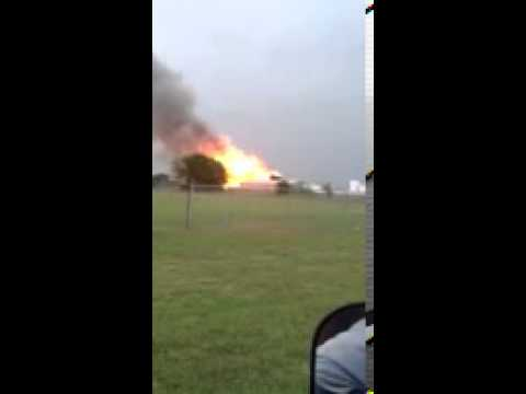 Explosion in West, Texas - Derrick Hurtt video
