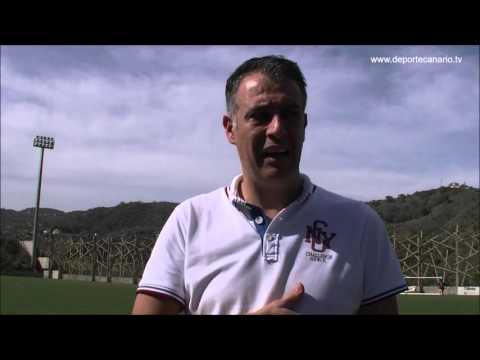 Comentario post partido de Israel Quintana, entrenador de la UD Villa Santa Brígida 24 1 2016