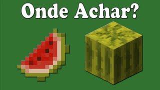 Game | Minecraft Como Achar Melancia. Épico. | Minecraft Como Achar Melancia. Epico.
