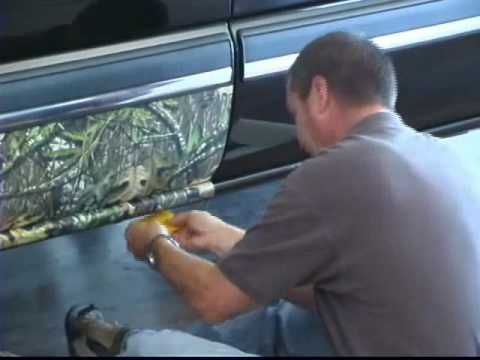 0 Part 2 of 5   How to Videos Vehicle Accent Camouflage Install   Official Camoclad Video
