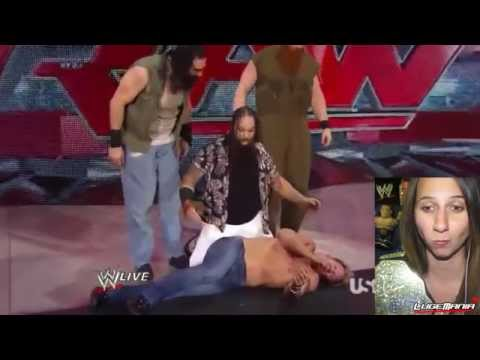 WWE Raw 7/14/14 Bray Wyatt Interrupts Jericho Live Commentary