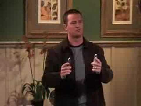 F.R.I.E.N.D.S - Ross and Chandler Stay at a Hotel