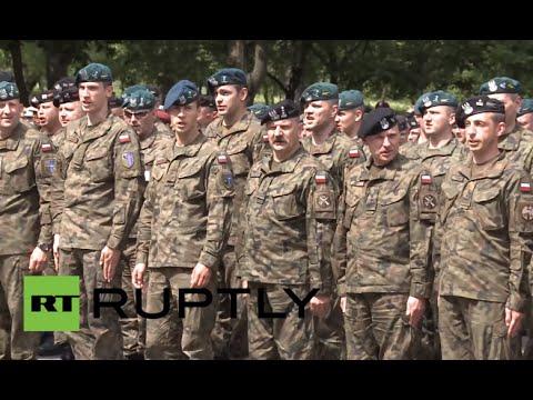 Poland: NATO's Anakonda 2016 military exercises kick off in Warsaw