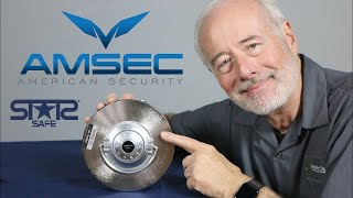 How to Dial open Amsec & Star round door safes Video