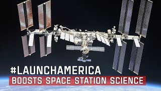 #LaunchAmerica Boosts Space Station Science