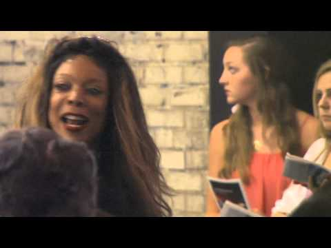 Wendy Williams greets fans outside her Broadway Play CHICAGO at Ambassador Theatre in New York