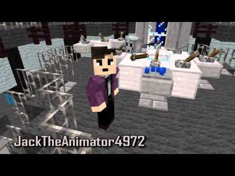 Minecraft 11th Doctor Regeneration Animation