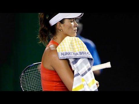 Garbine Muguruza lost to Czech Barbora Strycova : Austrlian Open 2016