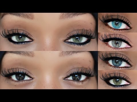 are those your real eyes?? colored contacts on brown eyes