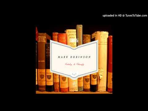 Mark Robinson - Catalog And Classify