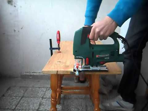 Parkside jigsaw pstd 800a1 youtube for Seghetto alternativo parkside lidl